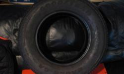 Just taken off rim excellent condition never leaked. $50.00 can deliver for free. Call 768-1039 or 630-0410