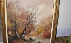 large landscape painting