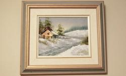 """Paintings & Prints All Frames are Included Steven 24""""W X 20""""H $40.00 B K Lia 10""""W X 8""""H $25.00 Raised Print James Lorimer Kirstead $50.00 Print Mother & Child Print 20"""" X 25 1/2"""" $25.00"""