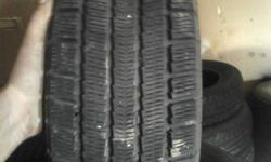 Pair (2) of michelin arctic alpin snow tires. 195/75R14. About 3/4 tread still on them. $120.00 for the pair (2) obo