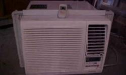 Panasonic  Room (Window)  Air Conditioner (Model CW-XG84AK) with Remote Control Adjustable fins on side for better window fit Three years old with minimal use 7800 BTU/hr 115V / 60 Cycle 6.6 Amp  720 Watts Buyer collects
