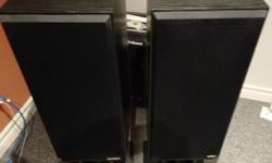 Selling a pair of Paradigm 7SE speakers, stands optional. These are in mint condition. Fantastic sound. 7se Specifications Design 2-driver, 2-way bass reflex, Quasi-3rd order resistive port; bookshelf / stand-mount Crossover 2.3 kHz Frequency Response