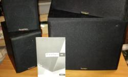 Subwoofer Center Speaker and 2 wall speakers High Definition. GREAT sound system, barely used. Make me an offer . the subwoofer alone cost just over $1000.00