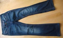 """New Parasuco jean pants size 27, lenght 33"""".  Worn once.  Original price $160.00. Please contact me if interested.  Thank you."""