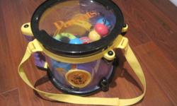 Parents Magazine Bee Bop Band Play & Learn Drum & Instruments   Great little instruments that are shaped like insects. In great condtion. From smoke free home. Fits nicely in the drum   Voted a favourite by parents magazine for several years.   Paid over