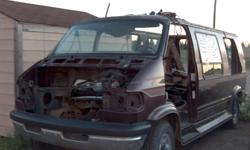 Assorted parts from a 1994 Dodge 3/4 Ton Van, Good front windshield, doors, new Front Brakes and rotors. Rebuilt 518 auto trans. 318 magnum engine. diff. etc. Phone for parts you may need. Phone 783-9030 Yorkton