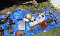 side mirrors    brake parts    steering wheel    master cyclinders    beauty rings    gas tank strap    alternators    much more   $5 --- $25