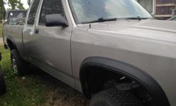 Make Dodge Model Dakota Colour GREY Trans Automatic THIS IS ONLY BEING SOLD FOR PARTS; BUT WITH THE OPTION TO BUY THE WHOLE TRUCK... THERE IS NO ENGINE OR TRANSMISSION IN THE TRUCK. PLEASE CONTACT THE OWNER OF THE TRUCK VIA EMAIL@ dan0001man@yahoo.ca for
