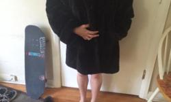 We are selling a Black mink fur Pat flesher coat. asking 1000$ Serious inquires only.