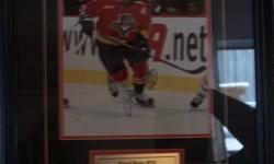 Framed Autographed 8 x 10 Pavel Bure in Florida Panthers Uniform COA 140.00 or best offer e-mail