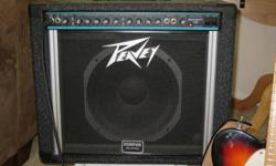For sale One Peavey Bandit Teal Stripe amp 8.5 condition no issues Pick-up Only