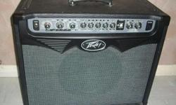 Peavey Vypyr 75W amp with Sanpera I footswitch/pedal for sale. Both are in mint condition, never gigged with. 75 watts 4 channels with 3-band EQ, master volume and pre- and post-gain controls 12&quot custom-voiced modeling loudspeaker 11 editable rack
