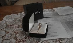 Peoples 14k yellow gold diamond anniversary ring, size 7. Total diamond weight  1 carat. Asking $1,500 firm. Serious buyers only.
