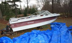 I have a 1989 peterbuilt pro star for sale asking $2,500.00 obo. Would also trade for a truck of the same value. Preferably looking for a 4x4. The boat is in good confition needs the trim in it fixed. It is an inboard with a 2.5 liter in it and runs