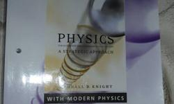 I'm selling, as a package, the Knight 1st year physics textbook and work book for $150.00. Compared to the bookstore at Trent you pay 2 extra dollars for the work book. Call, email or text me if interested 705-931-5309. Can deliver to downtown bus