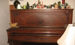 A Mason & Risch piano with bench as is free for pickup.