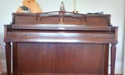 Baldwin piano (apartment size) is for sale for $1500. Please call: (250) 580-3376. Serious callers only.