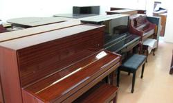 Visit our piano warehouse, huge selection of used and brand new pianos. Upright pianos, baby grand pianos, grand pianos and more! For your appointment please call (647) 247-8944 Visit us online www.BestPiano.ca Used Piano Starting $795 New Pianos Starting