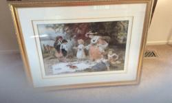A family picnic Excellent condition 43 X 34 Also see my other ads