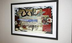 Pictures...modern abstracts...less than 3yrs old.
