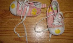 I have a pair of Pink Runners Sz3 Infant Sesame Street for sale! These are in excellent condition and would look great in your child's room or to give as a gift. Comes from a non-smoking household. Do not miss out on this excellent opportunity to get this