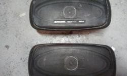 Pioneer 4x10 120 watt speakers. Bought for my s10 but sold the truck. $25