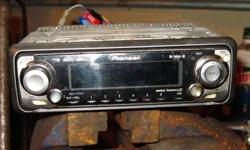 CD player with AM/FM