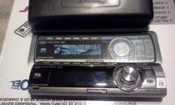 Pioneer car cd player used in mint condition - removable face-plate and cover - Cd/Mp3. wma player with fm/am - Mosfet 50wx4