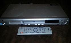 One Pioneer DVD (what's a DVD? Those things before BluRay...let's not talk about HDDVD, but if you're looking at this, you probably remember what DVDs are) player in immaculate condition. Includes barely used remote (I used a Logitech Harmony remote, so