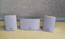 Pioneer Wall Speakers, surround sound.