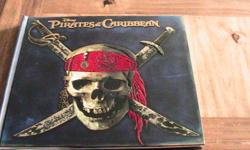 Nice book, brand new condition as we did not use it Smoke free home Lots of different pockets in the book with secret maps and info about pirates!