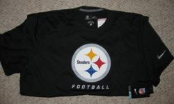 DRYWEAR STEELERS.N F L ON FIELD APPAREL. SIZES LARGE AND XL