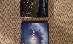 I have a copy of both Blue Planet and Planet Earth. Both are the 5 Disc special editions and are in great shape. Price is 25 each obo Thanks