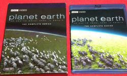 Planet Earth The Complete Series on Bluray. Price of $39 includes all taxes. We also have more items for sale at The Bay Street Broker located on the corner of Bay and Government St. 250-383-SHOP.