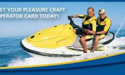 SiIDE WALK SALE AT NIAGARA SQUARE Pleasure Craft Operator Course Exam SPECIAL PRICING FOR ONE WEEK ONLY! Challenge the Pleaseure Craft and Operator Course for $30.00 no taxes Boating Basics Course Exam Canadian Power & Sail Squadrons is a non-profit