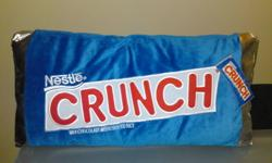Plush Pillow Detailed design. Coca Cola, and Nestle Crunch. Could be sell separately. Please email me if you are interested, and to consult the price. Delivery upon Richmond Hill, Markham, and GTA area.