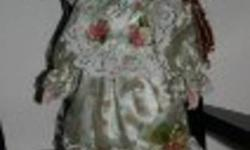 Hello Im selling 8 porcelain dolls for 25 dollers each they are in really great condustion owed by one person never played with or been arouund kids. If interested plz contact Pam