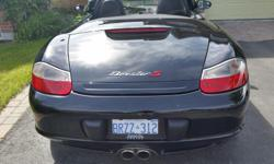 Make Porsche Model Boxster Colour Black Trans Manual kms 56400 2004 Boxster S, 50 anniversary, 6 speed manual, air, pw, pw, heated seats, ps, am/fm bose premium sound, winter cover, xenon headlights, traction control, no winters. Only 56,000 miles,