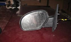 excellent condition with chrome back.were replaced with tow mirrors
