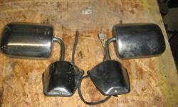 SET OR MIRRORS OFF 1990 RAM 2500 GLASS MISSING ON 1 POWER MOTORS WORK ON BOTH .CALL 519-736-2883