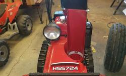 Due to unforeseen circumstances, I'm selling this practically brand new Honda Snowblower for a friend. It is a Honda HSS724, it was bought in Oct 2015 from Alsport. Used maybe 2 times. I have receipt and manual. Once you have expressed interest please