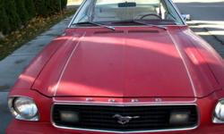 Hello!   I am looking to sell my 1977 Ford Mustang II Ghia. This is great car for restoration, given it's age. Also, due to it's lightweight frame, parts of this car (including the body) can be transformed into a racing vehicle. ASKING $600 OR BEST OFFER.