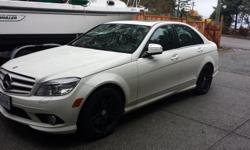 Make Mercedes-Benz Model C300 Year 2009 Colour White kms 100500 Trans Manual 2009 Mercedes Benz C300 Beautiful car, lady driven tire and rim warranty until 2017, AMG rims powder coated black on winter tires,and stock rims on summer tires. Fully loaded