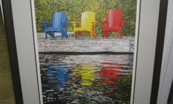 Primary Colors Ducks Unlimited by Olaf Schneider Auction piece 2007 Limited print and signed