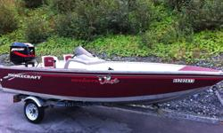 SOLD!!!   Boat Motor and Trailer Package!!! Princecraft DLX Deep Hull.  Boat includes livewell, automatic bildge pump, removeable swivel seats, plenty of storage, side console.  40hp Mercury Outboard barely used.  Motor is near mint and was dealer