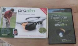 Proaim virtual alignment trainor for putting with DVD.