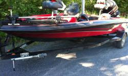 "2005 ProCraft 175 Pro SC Fishing Boat For sale - Season's Coming to an end Price Reduced!! 17ft 2"" bass boat, 8' beam 115 HP Mercury Optimax out board engine with LOW HOURS, less than 70! Wow with no negative history on the computer. It has just had the"