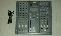 Hi, Im selling this AMX SX-700 professional audio mixer. Like new condition. Here are the specs: This mixer can perform in amateur broadcast, studio and various audio applications. Rugged metal casing and constructed using only selected high-quality