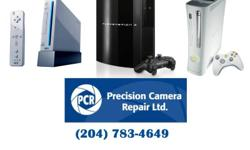 When it comes to repairing video game consoles PRECISION CAMERA REPAIR is your best choice (professional repairs and best warranty)  Fast Repairs , and as always are committed to providing the best possible customer service and price. (We repair
