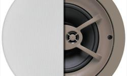 WhateverYouWant.ca... HST Included.... Brand New & In-Stock! The C625TT gives you stereo sound where mounting two speakers is impractical, such as in a hallway or bathroom. Its 6½-inch polypropylene woofer has dual voice coils so it can reproduce left and